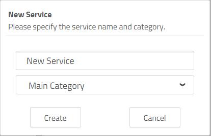 add a new service