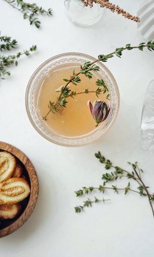 Tea is a popular Italian breakfast recipe instead of coffee.