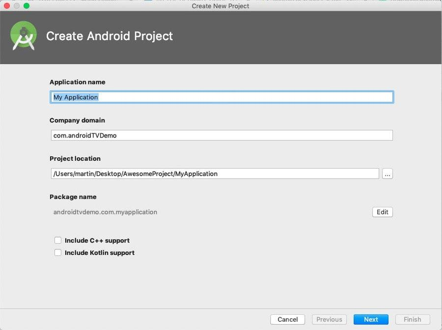 Android Studio Configure Project