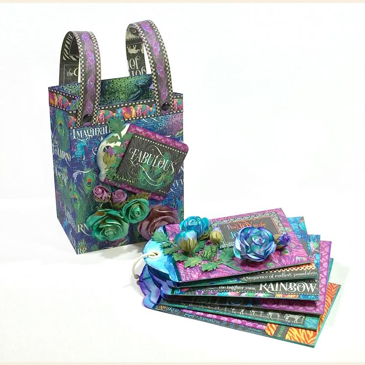 Club G45 Vol 7 2019 Kaleidoscope Gift Bag & Staggered Tag Album