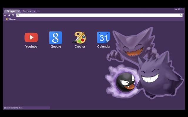 Ghost pok mon chrome web store - Pokemon ghost wallpaper ...