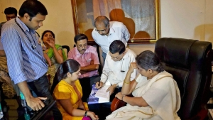 Presidency University Vice-Chancellor Anuradha Lohia's medical check-up