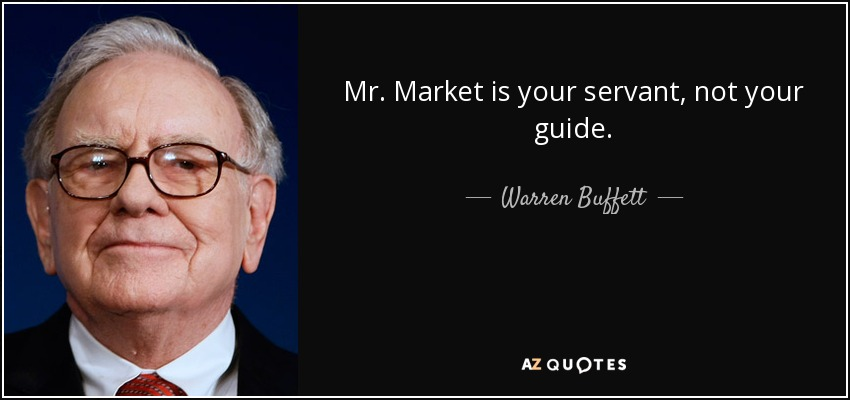 Citação de Warren Buffett