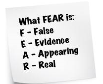 what fear is