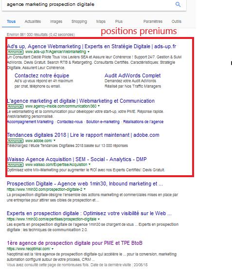 photo positions preniums google