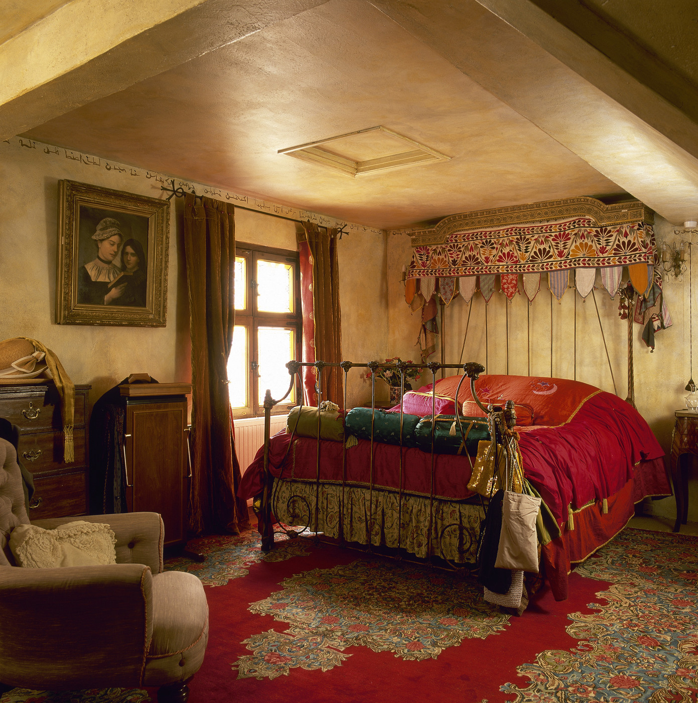French-Inspired Moroccan Bedroom