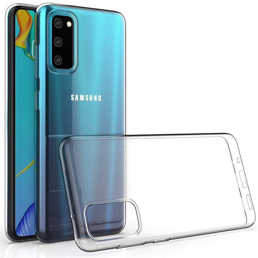 TPU чехол Epic Premium Transparent для Samsung Galaxy S20