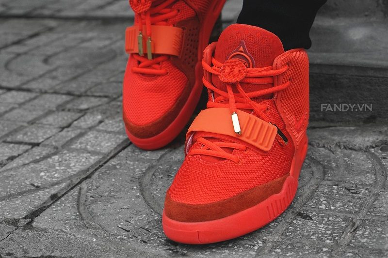 Giày Nike Air Yeezy 2 Red October