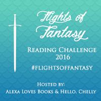 Flights of Fantasy Reading Challenge 2016 Alexa Loves Books Hello Chelly button