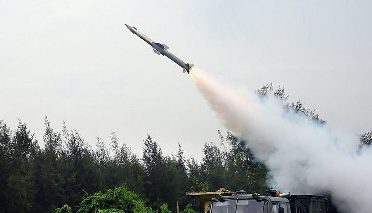 2nd Flight Test Of Quick Reaction Surface To Air Missile Conducted  Successfully Off Odisha Coast   OTV English