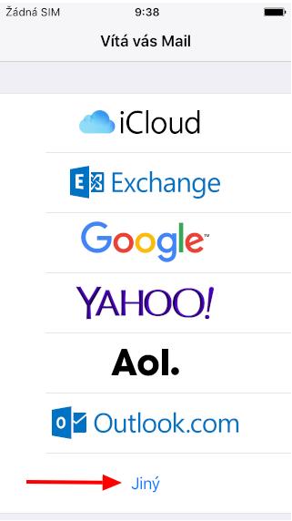 Nastavení ebenit e-mailu pro iOS - 4
