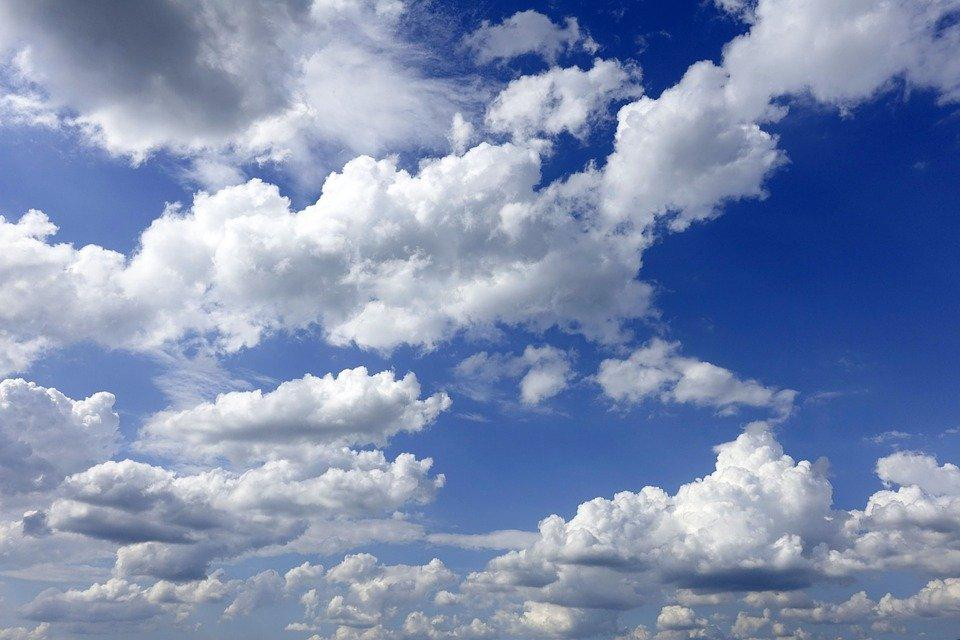 Clouds, Sky, Weather, Cumulus Clouds, Atmosphere, Blue