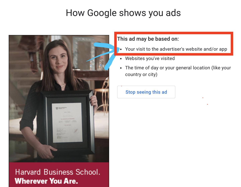 Harvard Business School on Sputnik News - Why this Ad