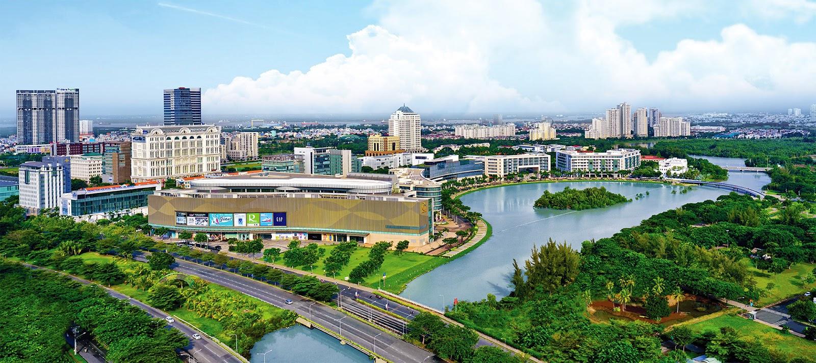 Phú Mỹ Hưng được biết đến là đô thị xanh bậc nhất