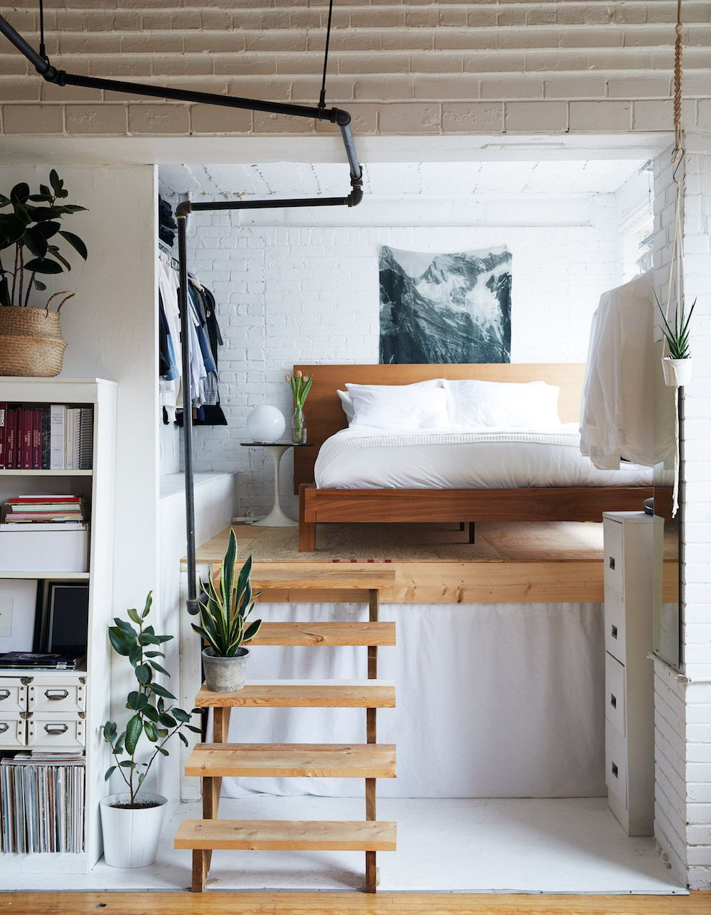 Low Loft Bed Ideas