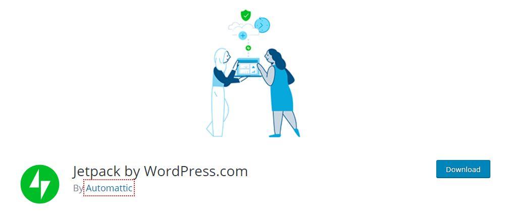 JetPack By WordPress Plugins.