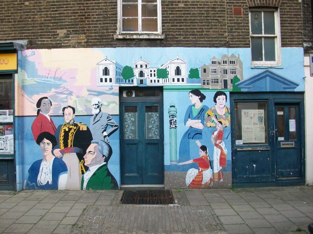 Fitzrovia Neighbourhood Centre and Mural