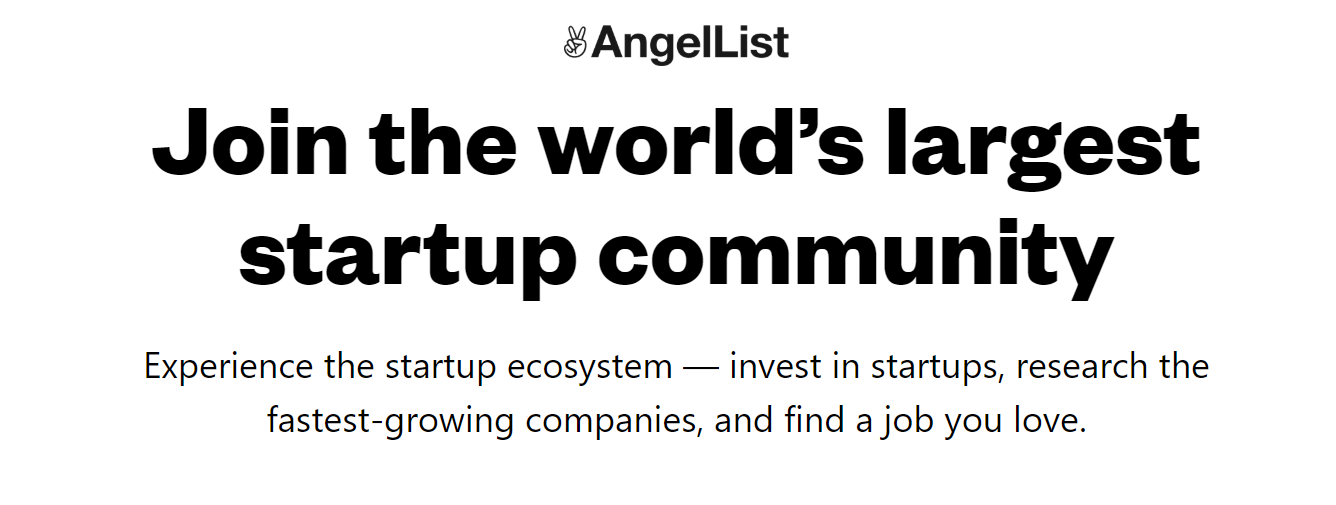 AngelList angel investing