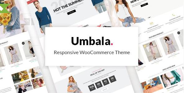 4. Umbala - Fashion & Clothing Store WooCommerce Theme