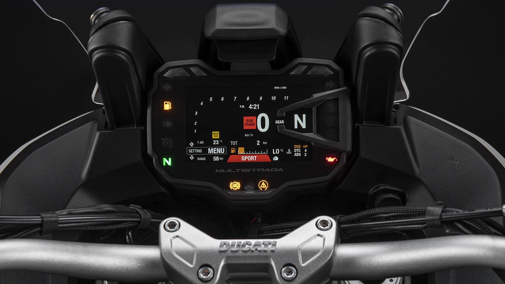 Ducati Multistrada 950 S รถทัวริ่งบิ๊กไบค์พันธุ์ดุจากอิตาลี5