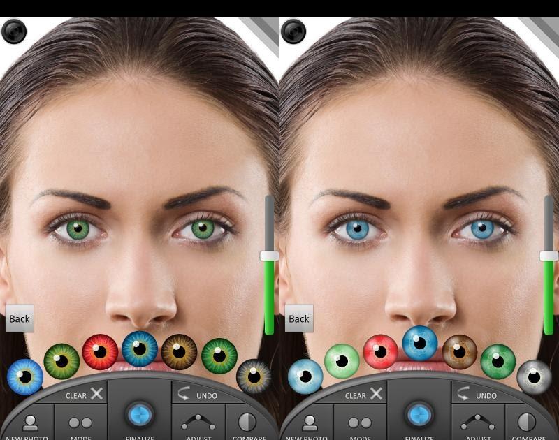 Как изменить глаза на фото в айфоне