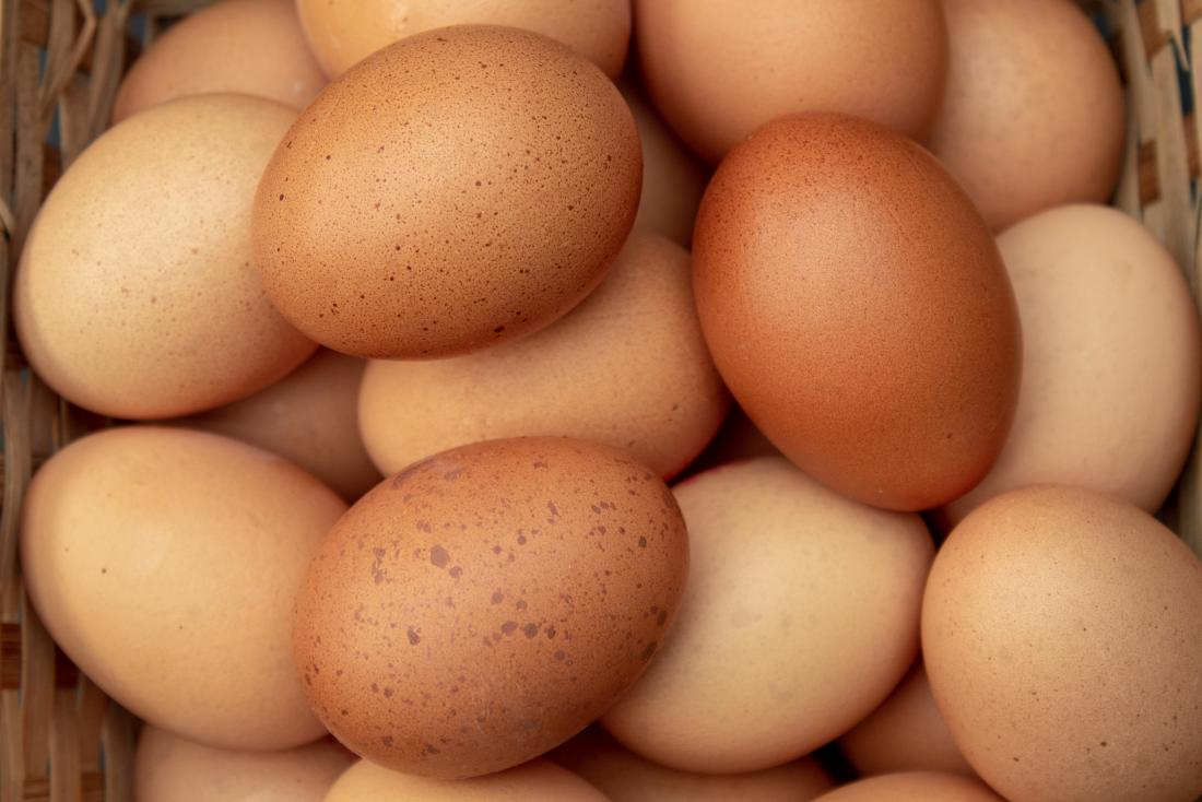 Eggs provide high quality protein.