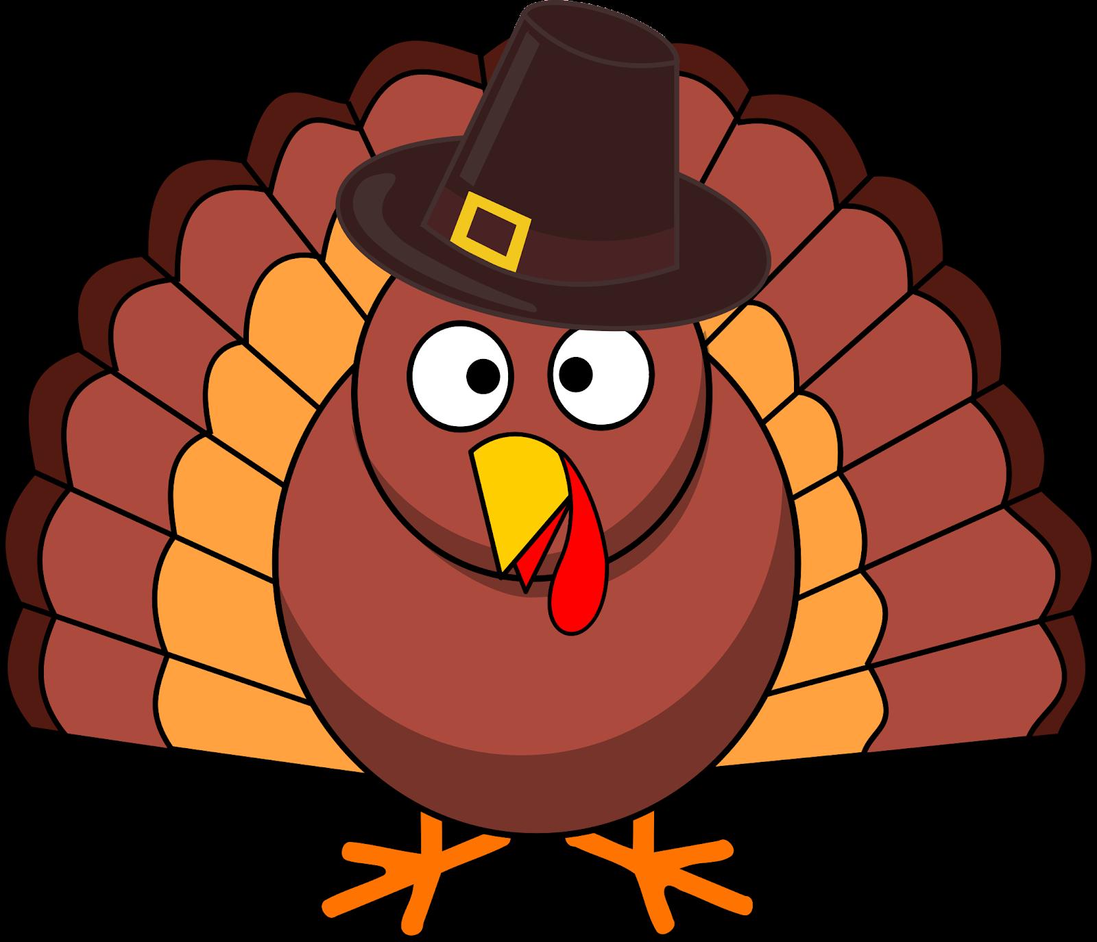 Turkey with Pilgrim hat vector ...