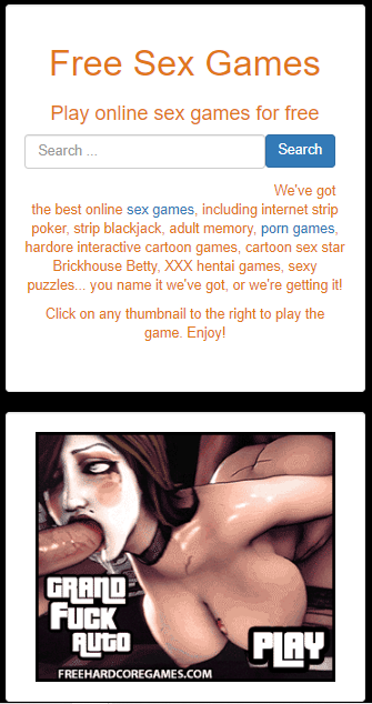 Free online animated sex games