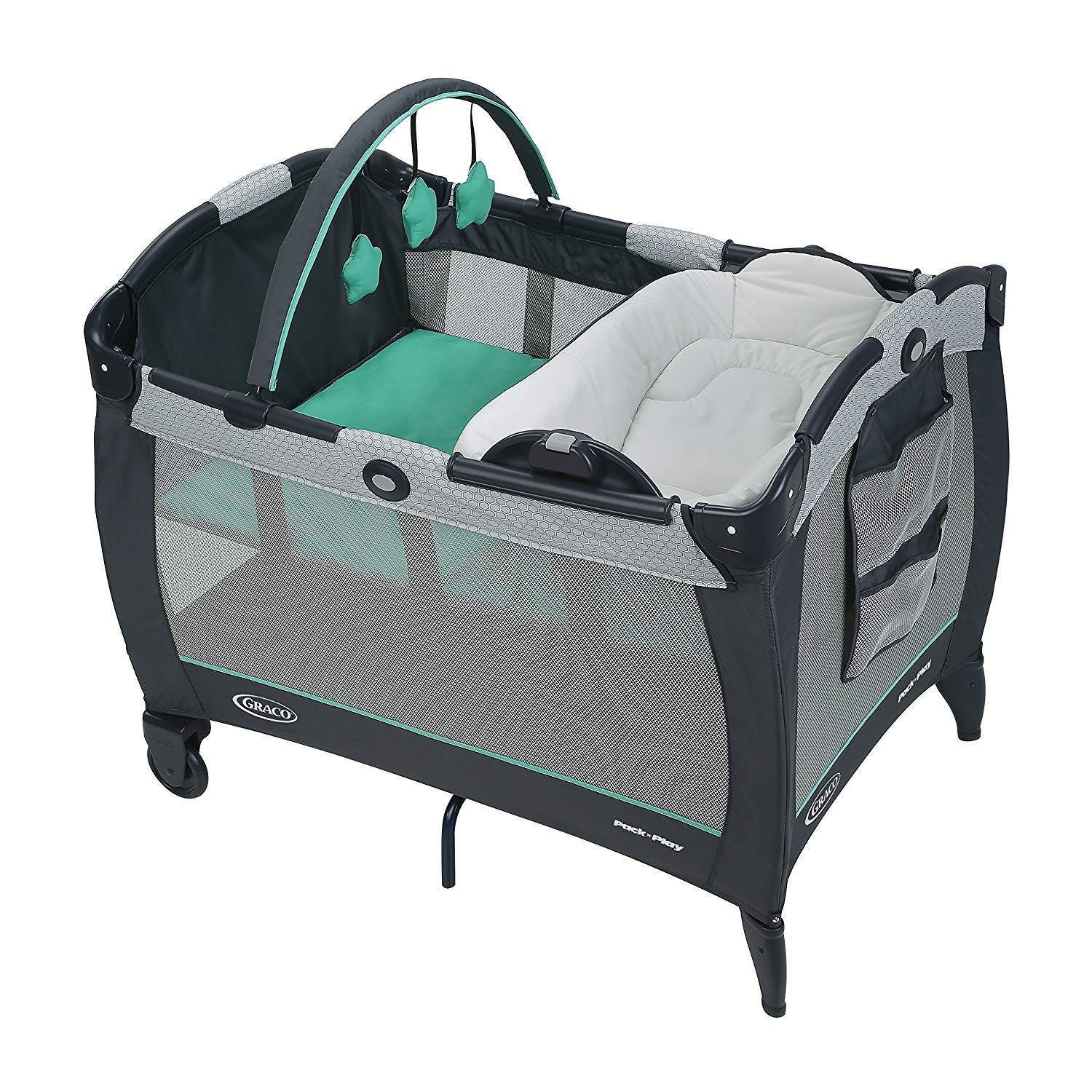 pack 'n play review reversible napper/changer