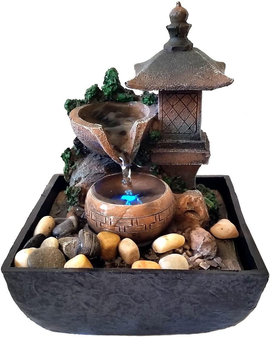 jardin zen en miniatura fuente