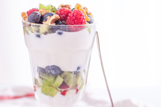 Fruit and Greek Yogurt