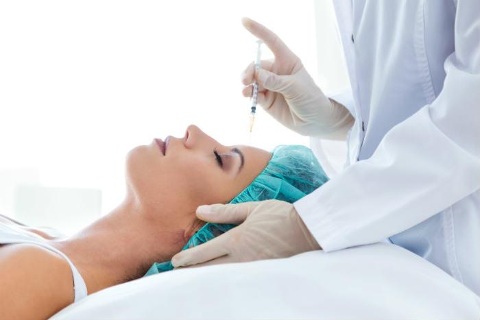 Aplicación estética de Botox