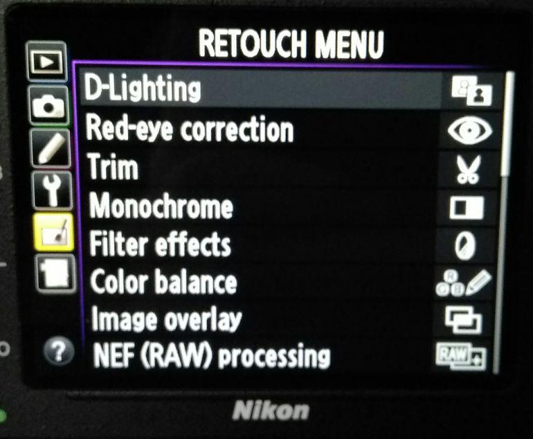Doble exposición en la cámara Nikon