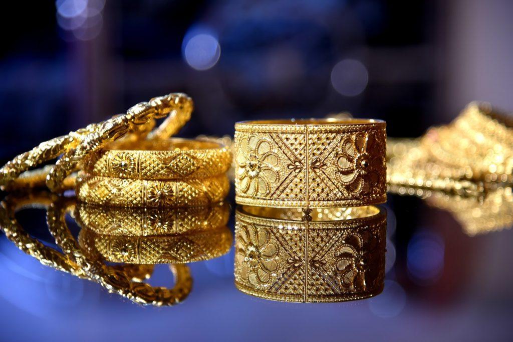 jóias de ouro quase não sofrem oxidação