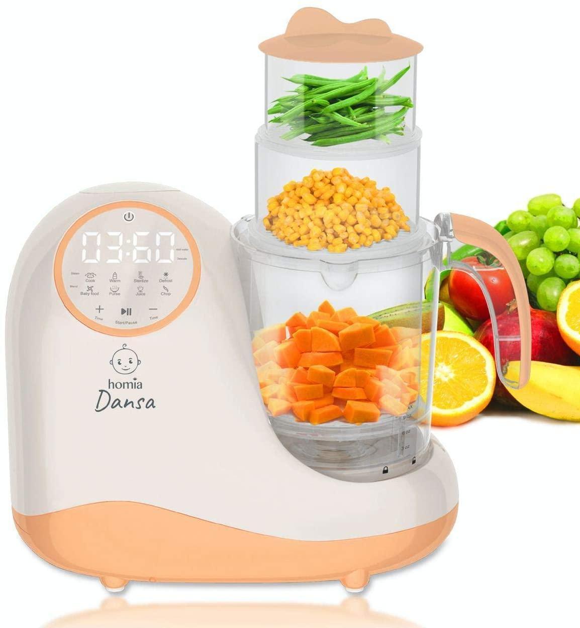 Homia Dansa 8-in-1 Baby Food Maker