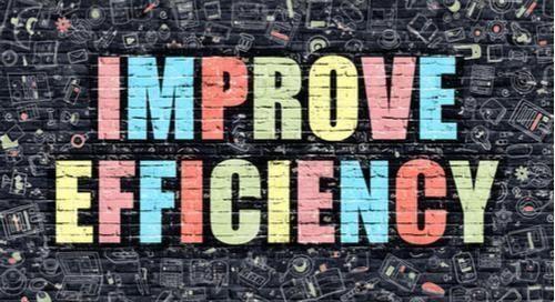 graphique indiquant « Gagnez en efficacité»