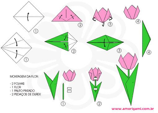Flor Origami