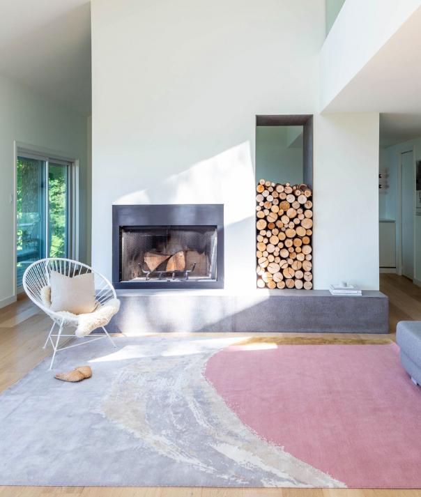 zoe pawlak rug for floor design lover art aficionado leanne bunnell interiors calgary