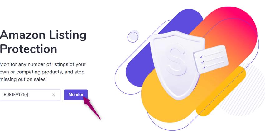 monitor amazon listing