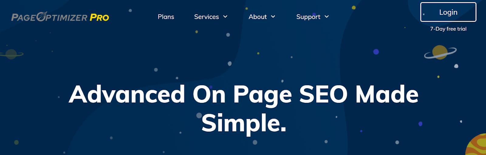 PageOptimizer Pro content optimization tool