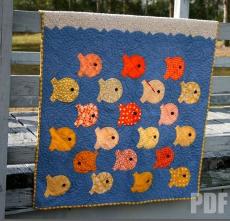 School of Fist Quilt - Craftsy Member Pattern