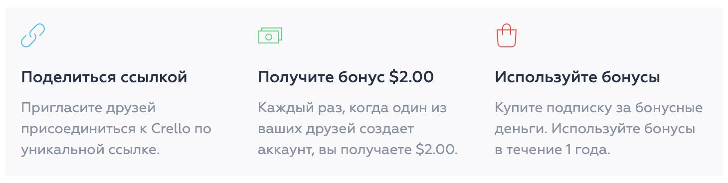 бонус за регистрацию по реферальной ссылке