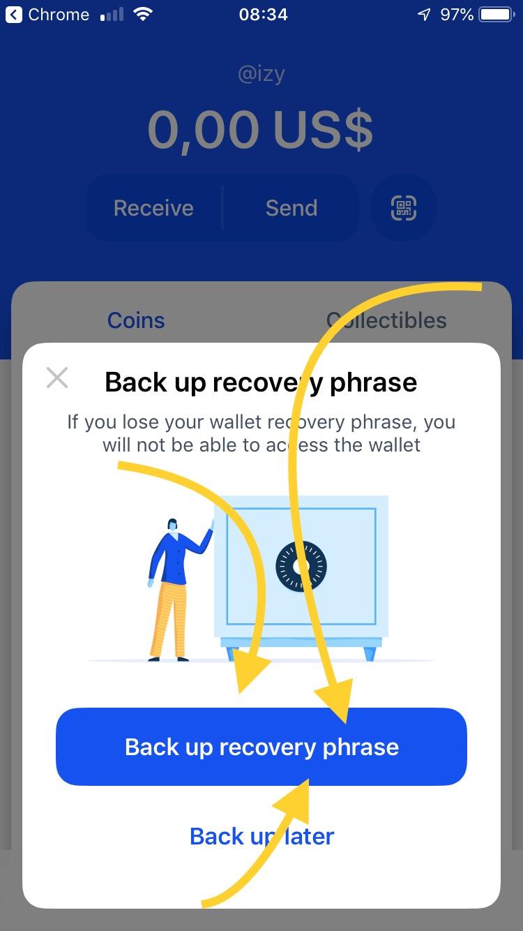 Odzyskiwania portfela bitcoina - wybierz opcje