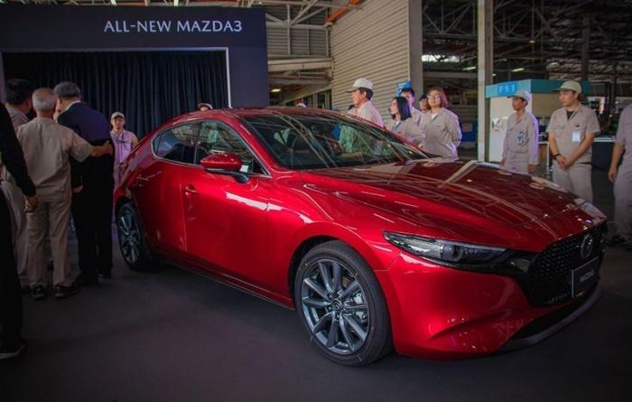 Mazda 3 ปี 2019 รุ่นใหม่คันแรกจากสายการผลิตไทย