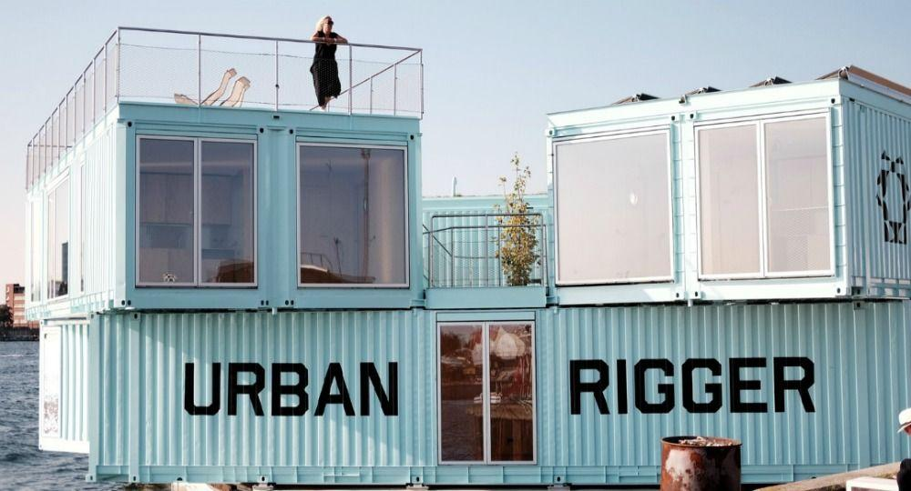 Proyecto Urban Rigger. Vivienda joven sostenible | Arquitectura