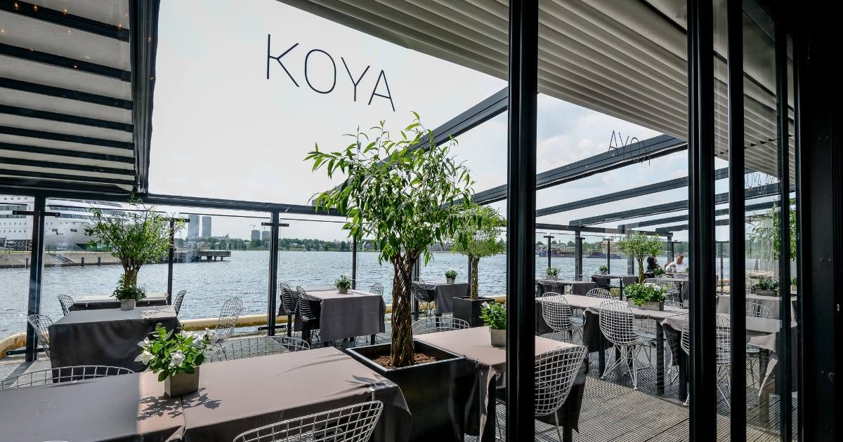 koya restorāna terase