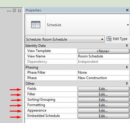 Scheduling Models - Operation in Revit - Modelical