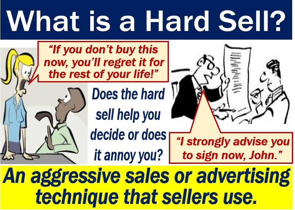 hard selling approach in online marketing