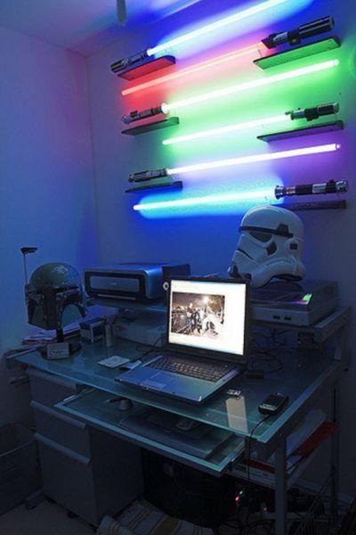Sables luz LED