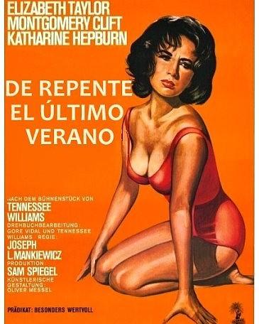 De repente, el último verano (1959, Joseph L. Mankiewicz)